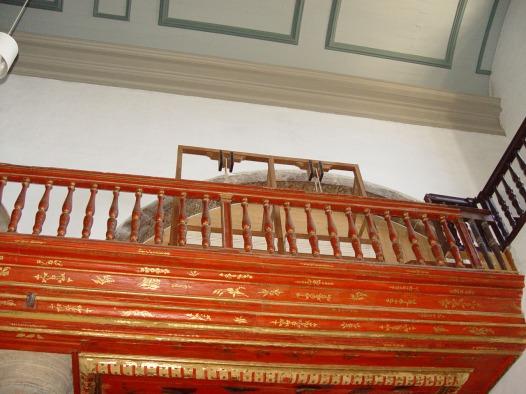 Faro organ bellows, photo by João Valério